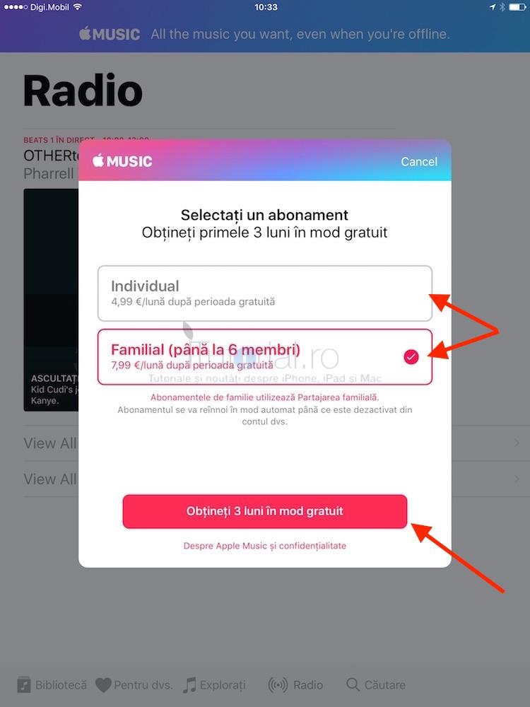 plan applemusic iOS