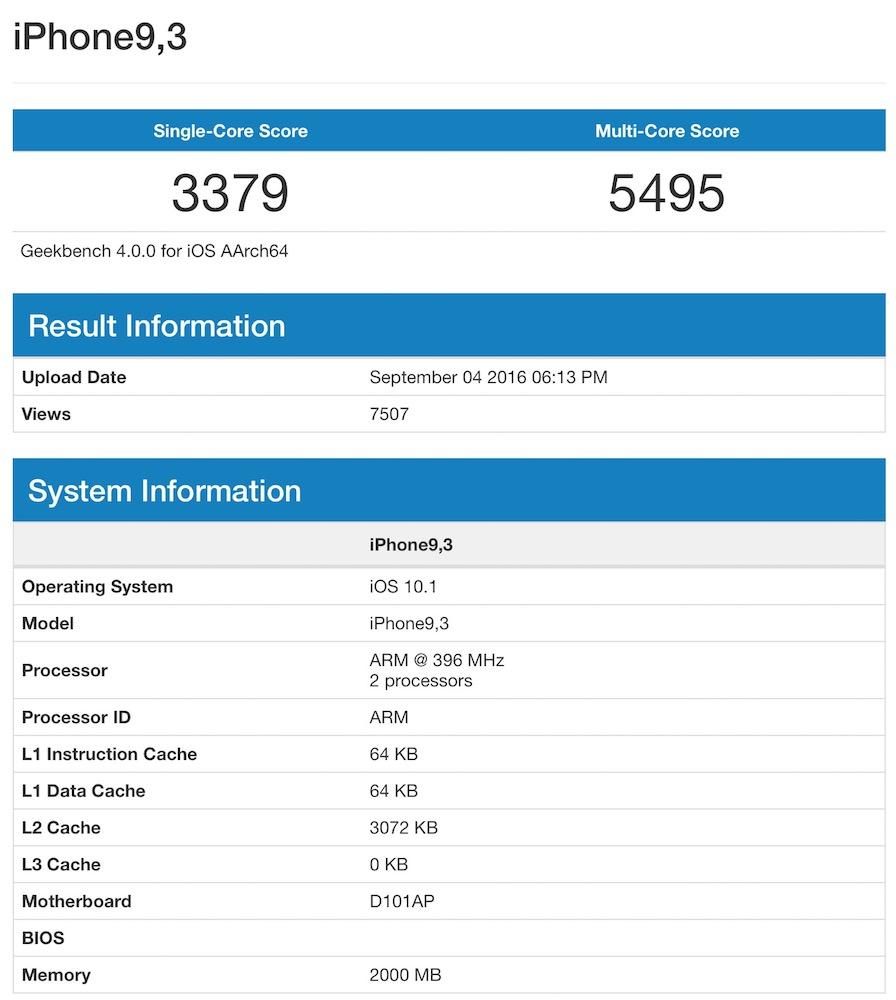 test performanta iphone 7