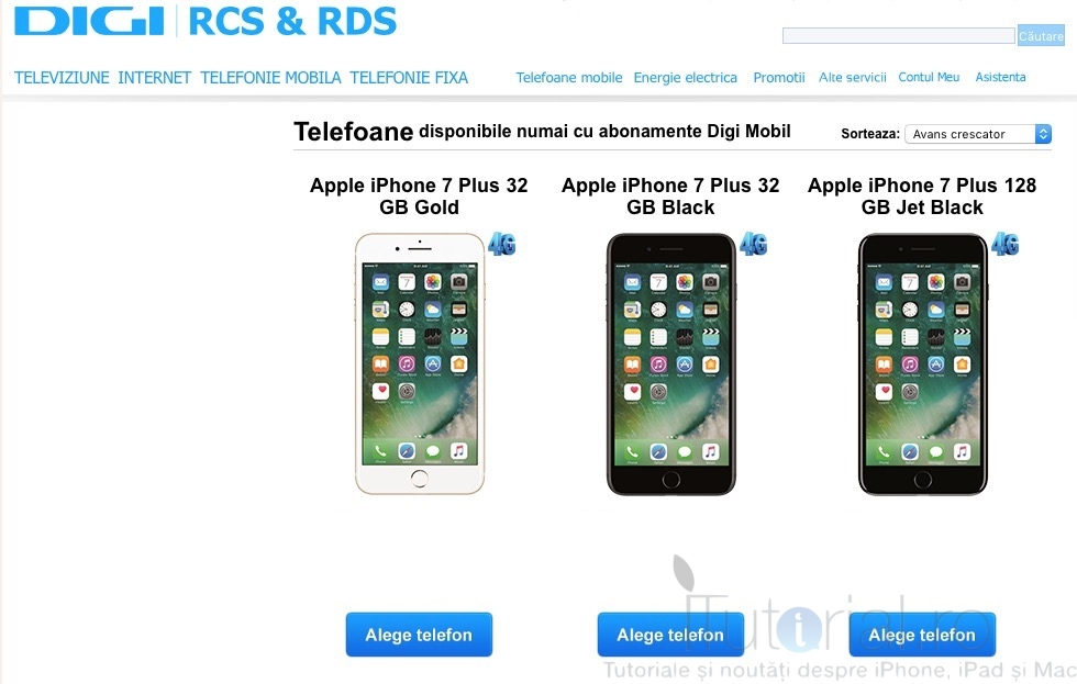 iPhone 7 și iPhone 7 Plus sunt disponibile la Digi  Iată oferta!