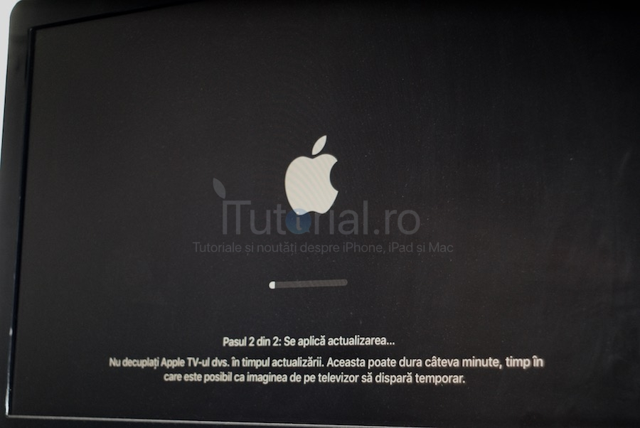 actualizare apple tv