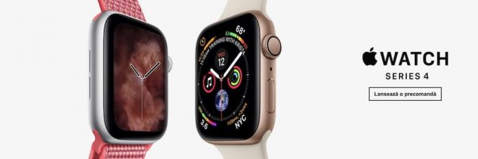 apple watch series 4 romania