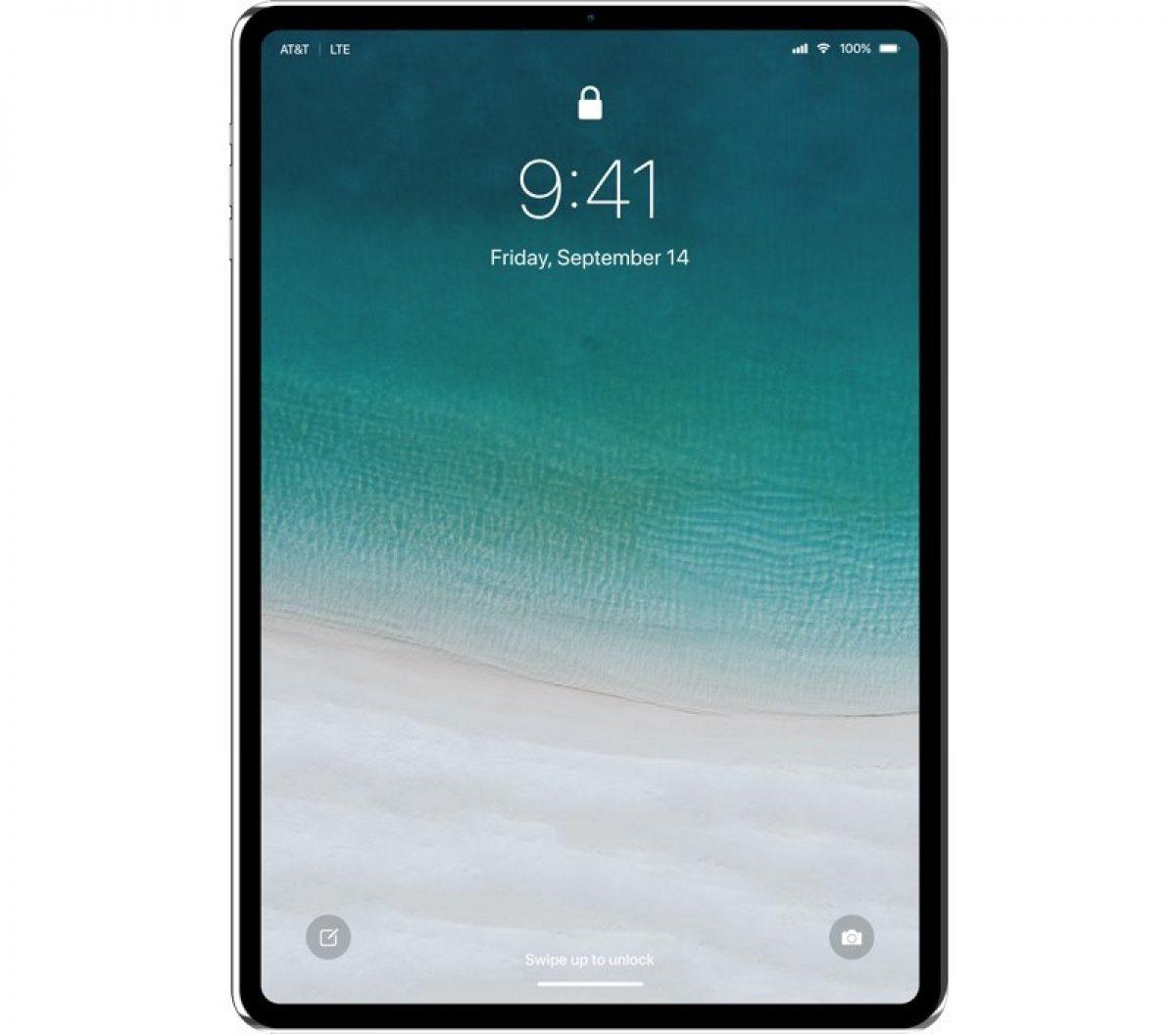 concept ipad pro 2018