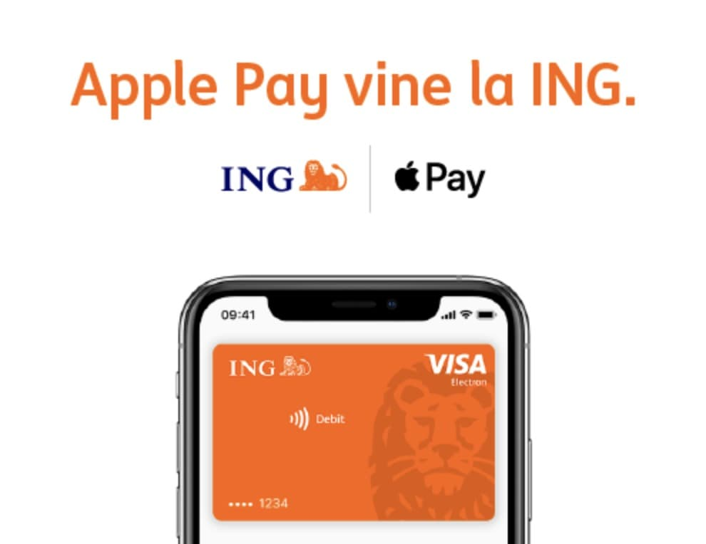 apple pay romania ing