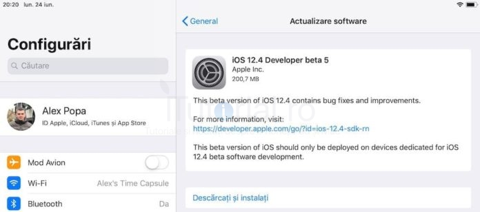 ios 12.4 beta 5