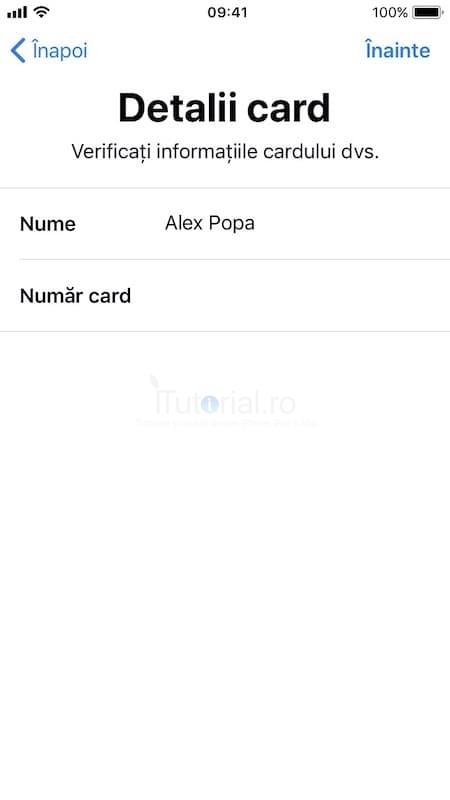 numar card