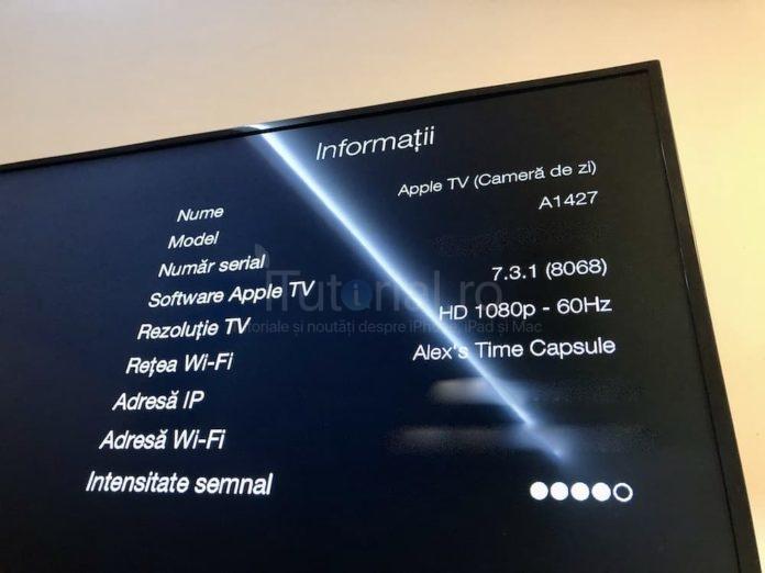 apple tv 7.3.1