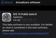 ios 13 public beta 6