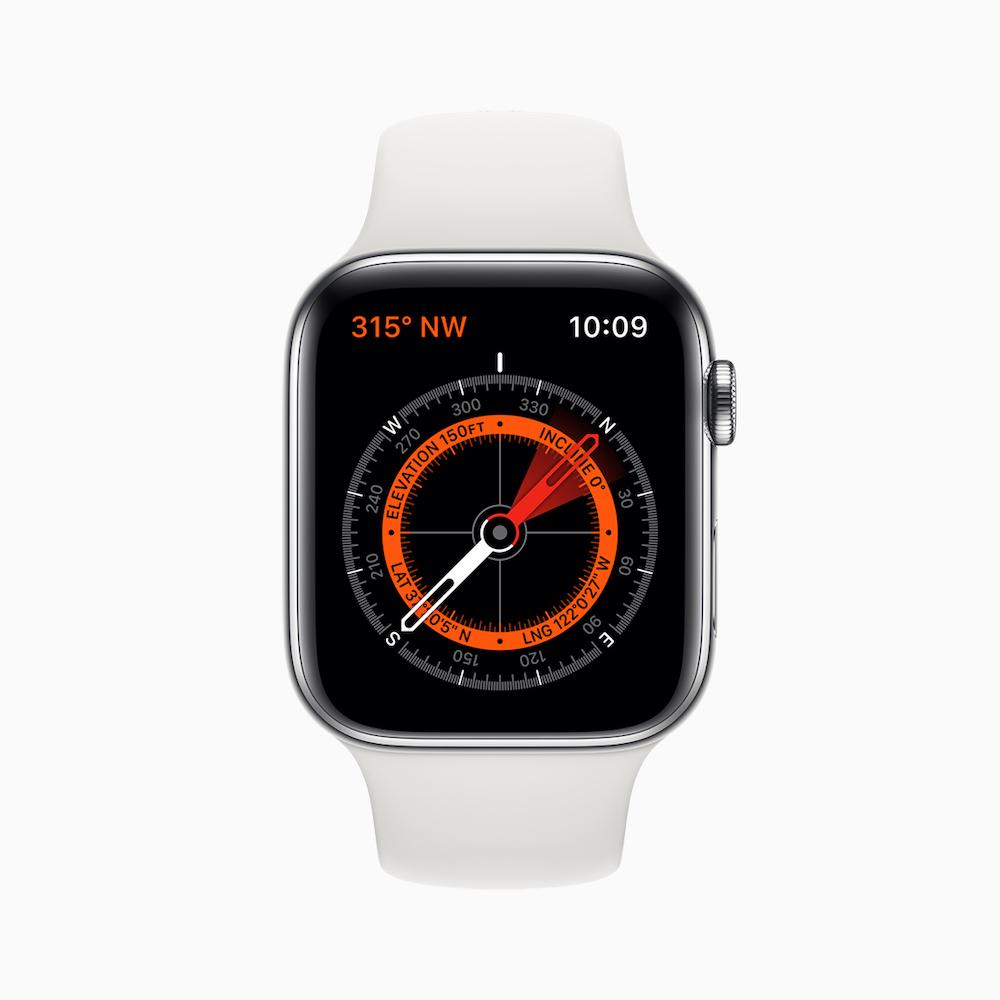 Apple watch series 5 navigation
