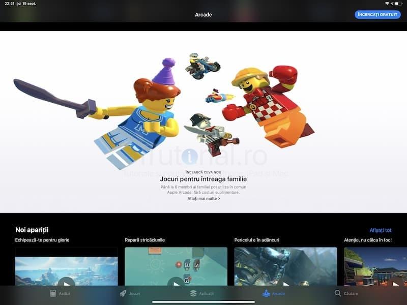Apple oferă trei luni de acces gratuit la Apple Arcade pentru toți cei care cumpără un iPhone / iPad / Mac nou