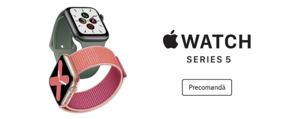 apple watch series 5 pret