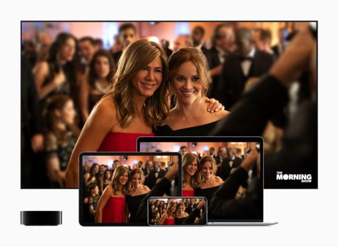 lansare pret apple tv plus