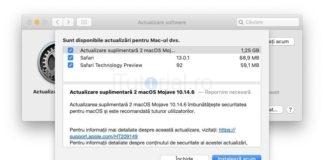 macos 10.14.6 actualizare suplimentara 2