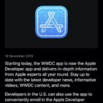apple developer aplicatie