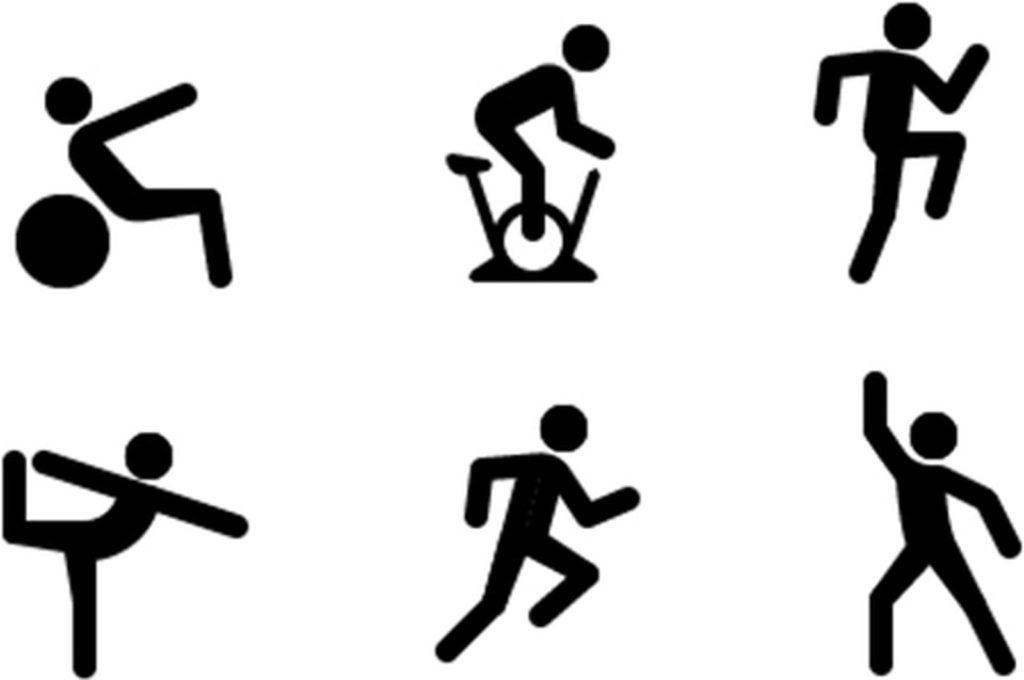 fitness ios 14 pictograme