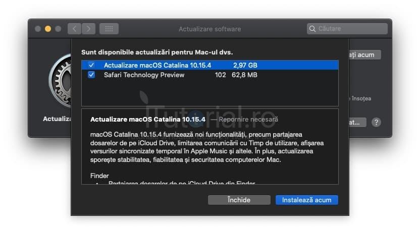 macOS 10.15.4 a fost lansat pentru Mac. Iată tot ce aduce nou