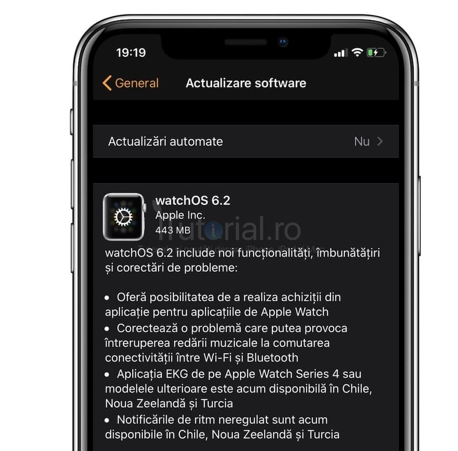 watchOS 6.2 a fost lansat pentru Apple Watch. Iată noutățile