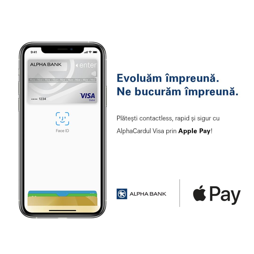 apple pay alpha bank