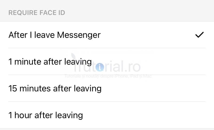 timp blocare facebook messenger