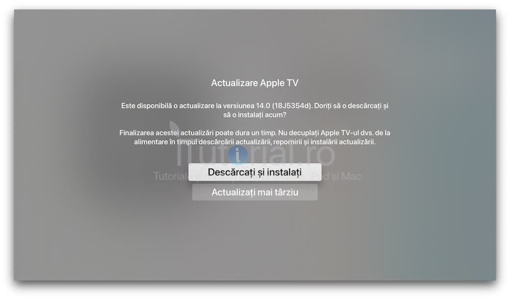 tvOS 14 public beta 4 a fost lansat pentru Apple TV HD și Apple TV 4K