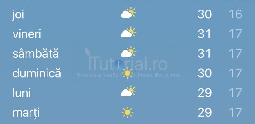 vremea ios14