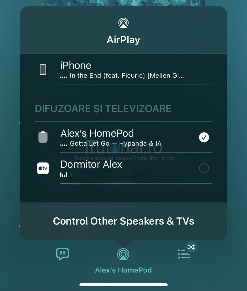 airplay ios142