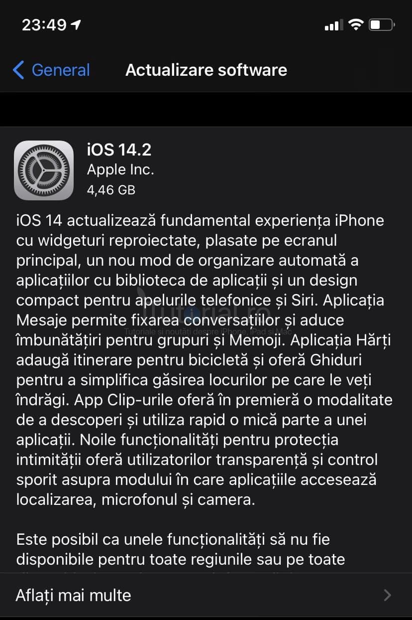 iOS / iPadOS 14.3 public beta 1 au fost lansate pentru iPhone și iPad. Iată ce noutăți aduc