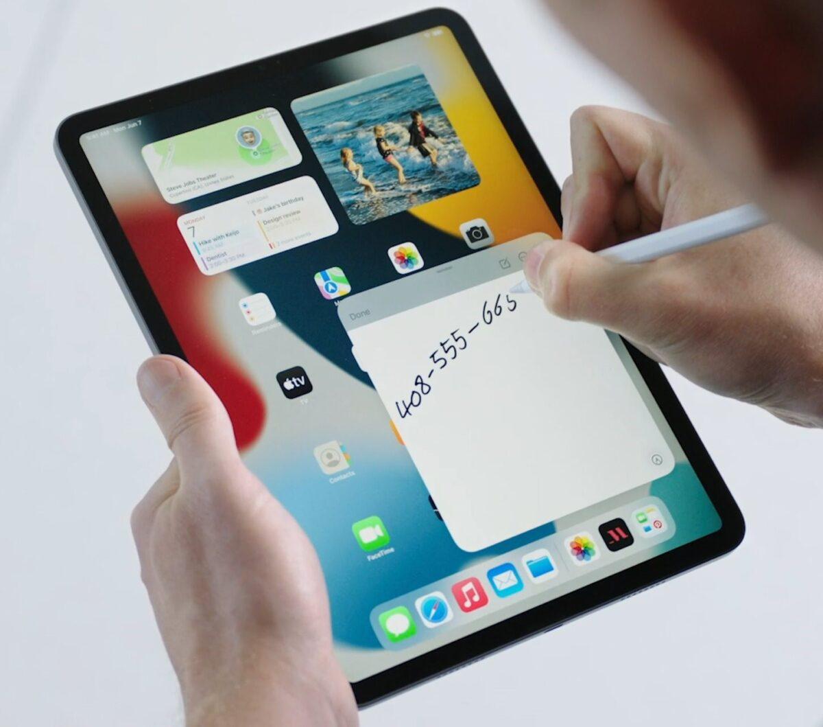 iPadOS 15 a fost prezentat de Apple – Iată ce va aduce nou pe iPad