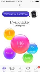 Game Center interfata iOS 7