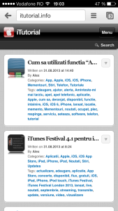 Chrome pagina iTutorial