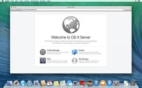 OS X Server Mavericks